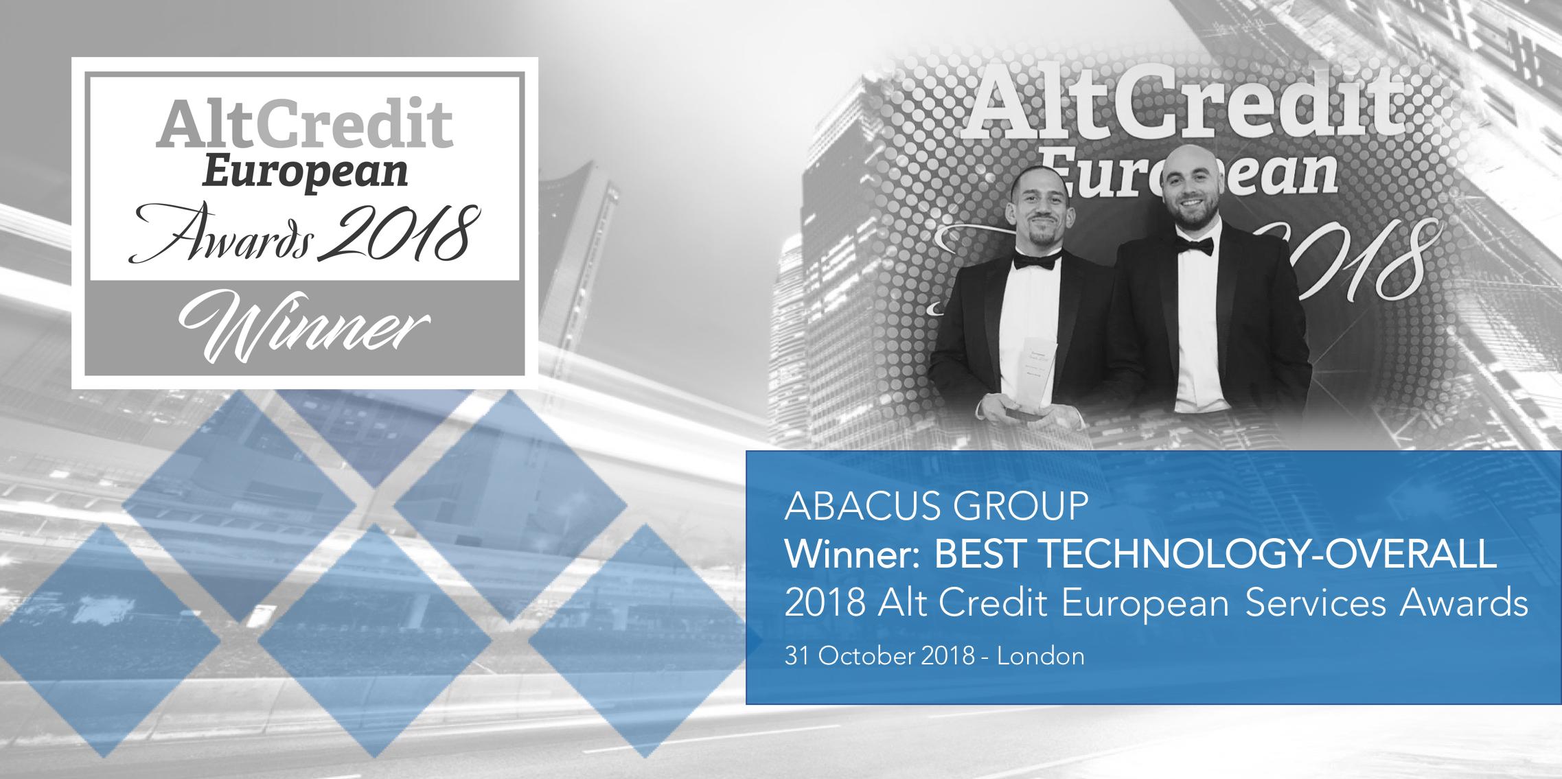 2018 Alt Credit European Services Awards - social image