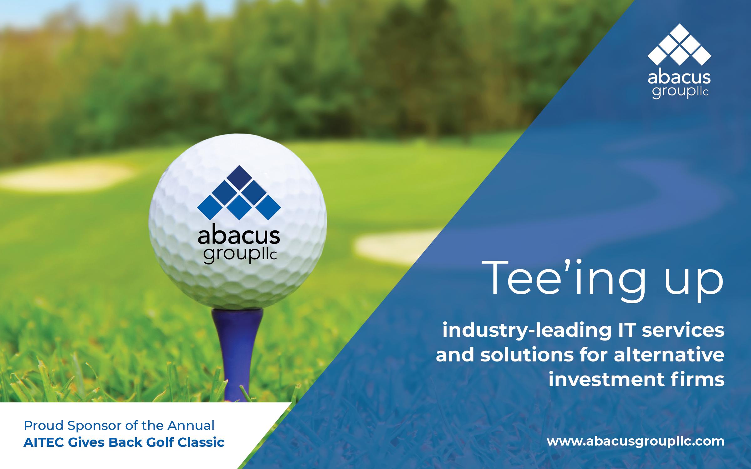 Abacus Sponsors AITEC Golf Classic