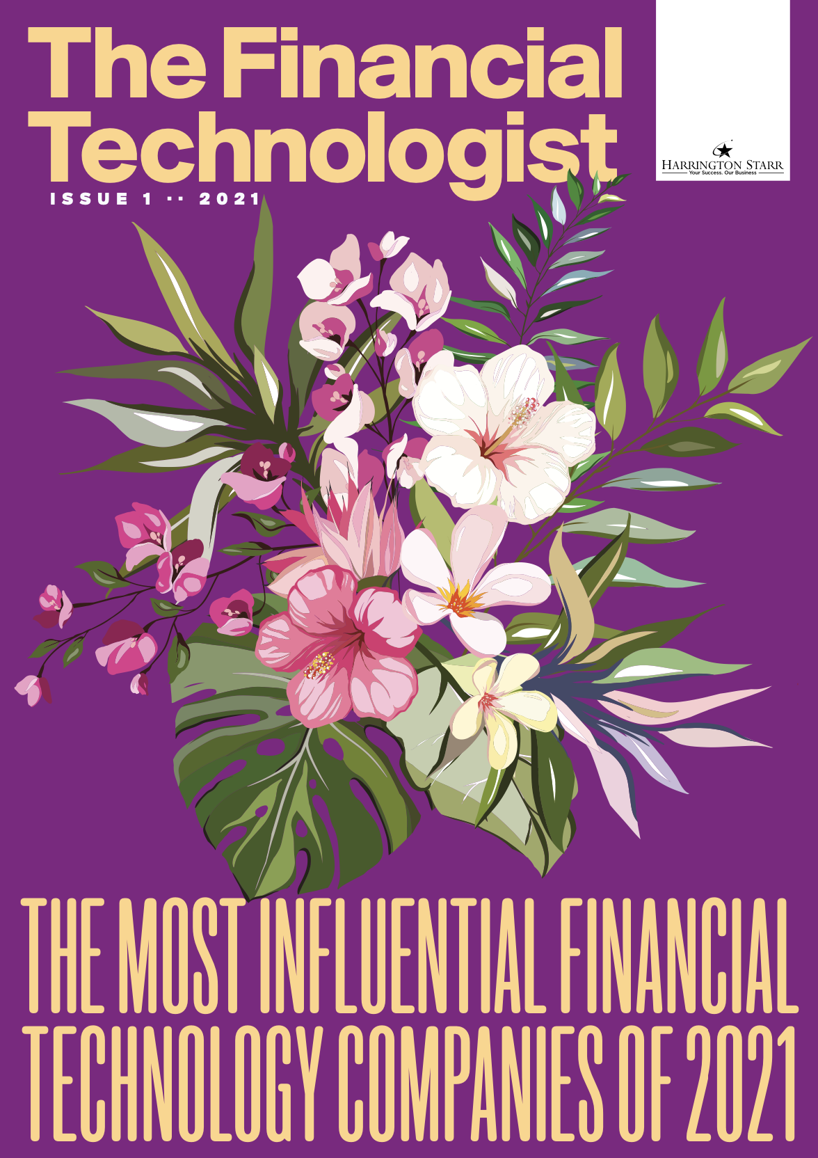 Financial Technologist Magazine 2021 - cover image - Issue 1 - Most Influential Financial Technology Companies