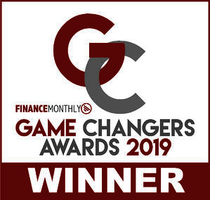 2019 Finance Monthly Game Changers Awards 2019 Winner Logo