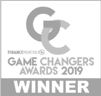 2019 Finance Monthly Game Changers greyscale
