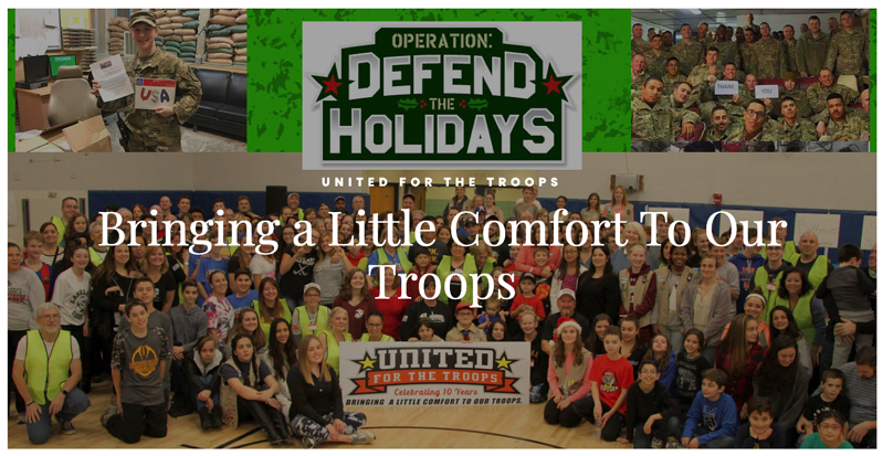Abacus Group - supplies drive for United for the Troops