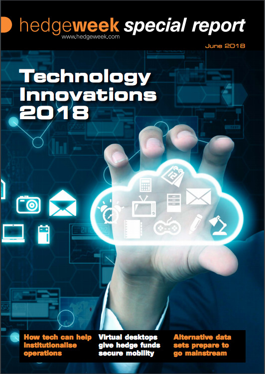 Hedgeweek special report - Technology Innovations 2018