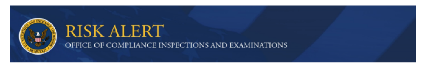 SEC OCIE RISK ALERT image