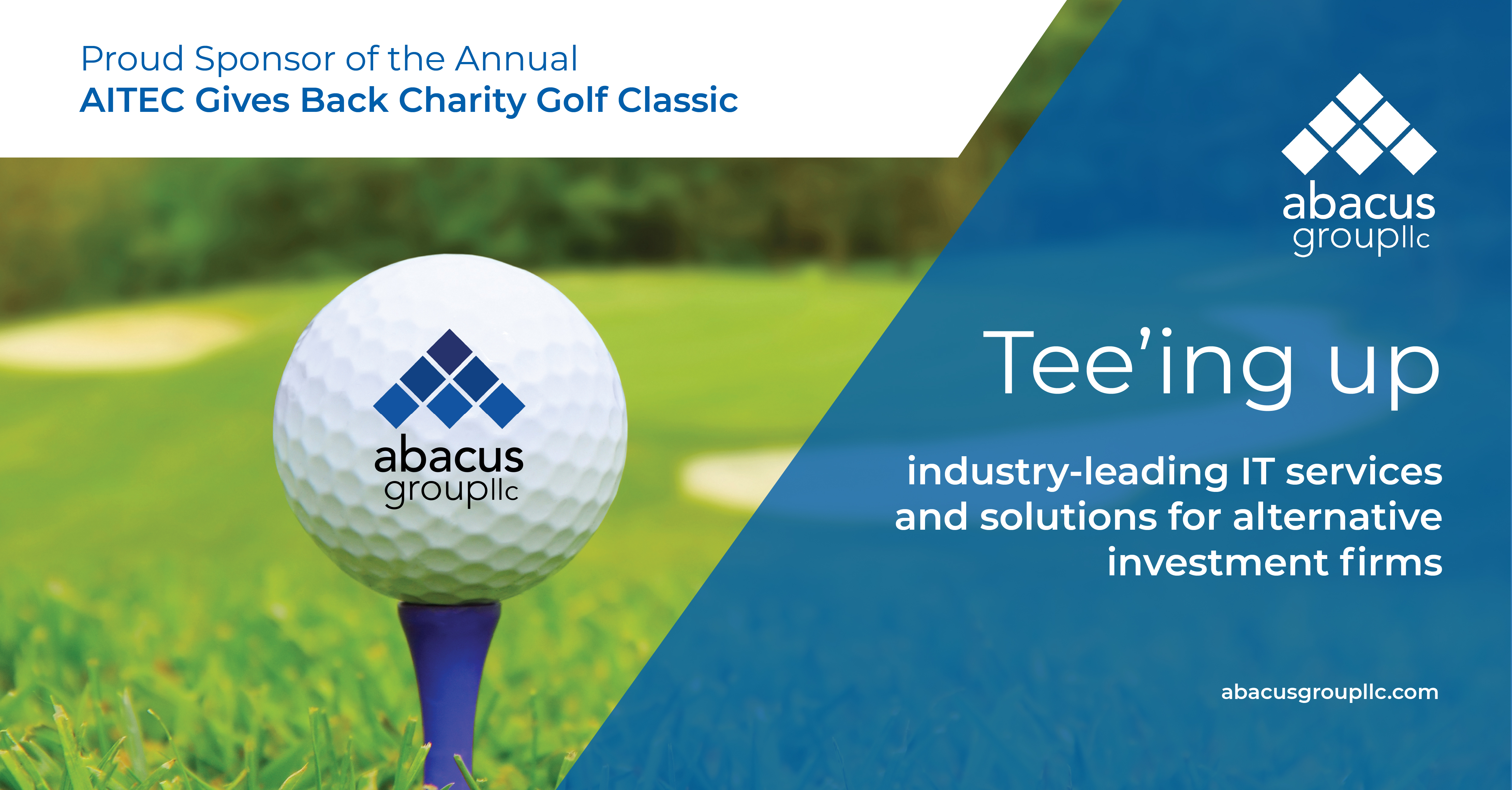 Abacus Group Sponsors AITEC Gives Back Charity Golf Classic
