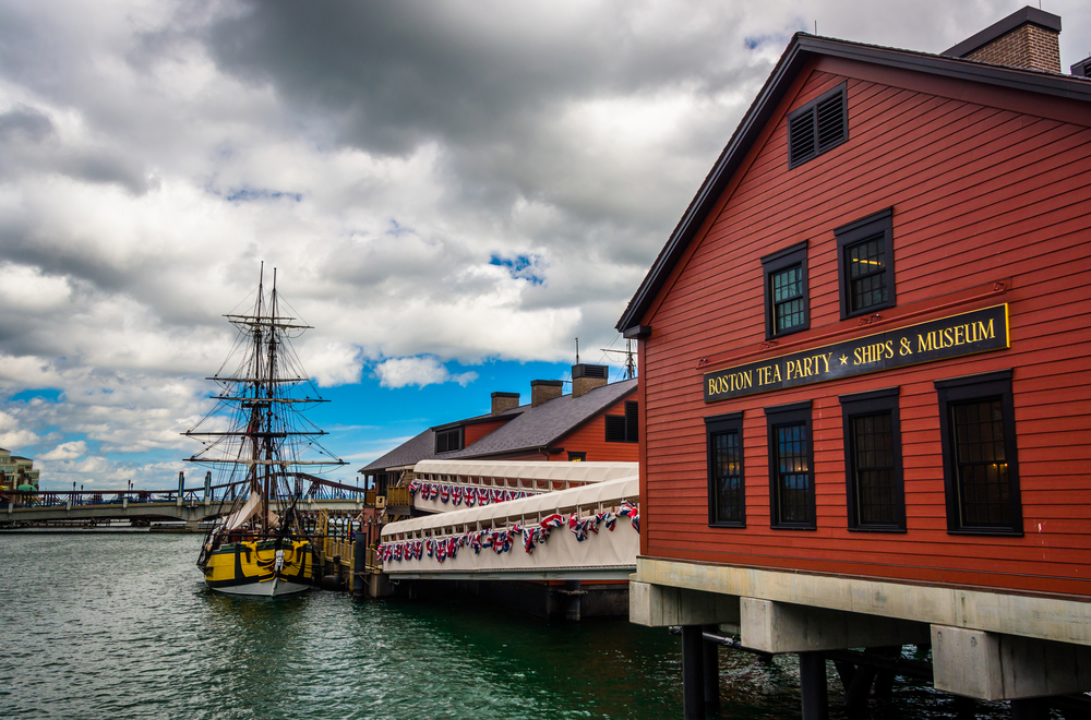 The Boston Tea Party Museum, in Boston, Massachusetts.