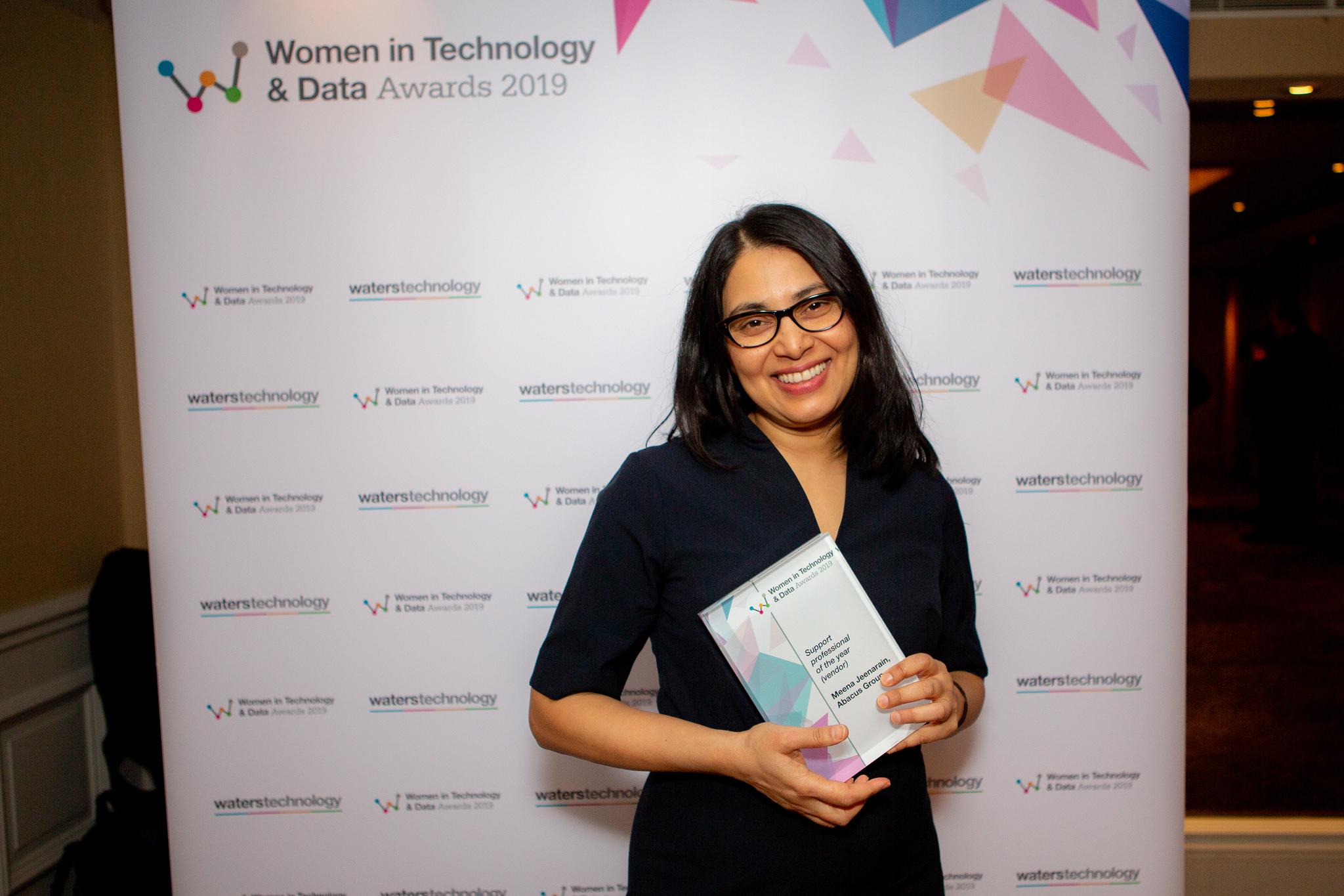 Abacus Group's Meena Jeenarain Wins Prestigious Global Women in Technology Award